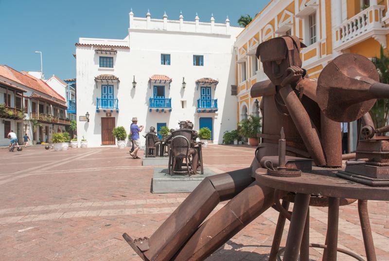 Plaza de San Pedro Claver ; El Centro ; Carthagène des Indes
