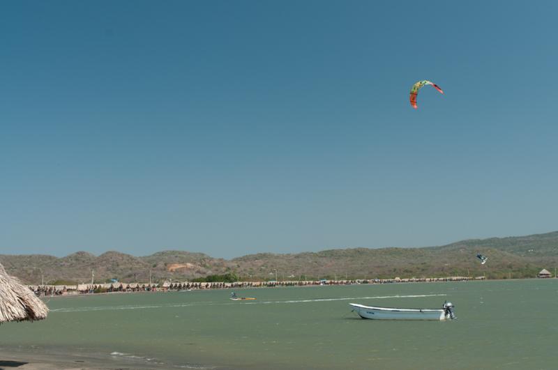 Kitesurf ; Puerto Valero