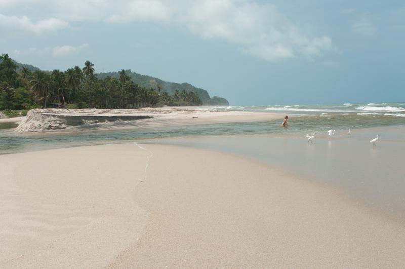 Le Rio Palomino rejoint la mer des Caraïbes ; Palomino