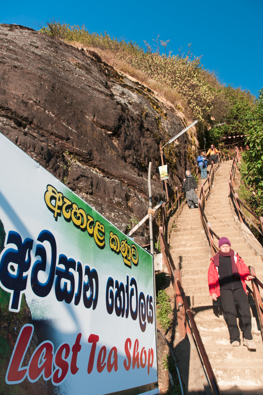 Dernière ascension de l'Adam's Peak, Sri Lanka