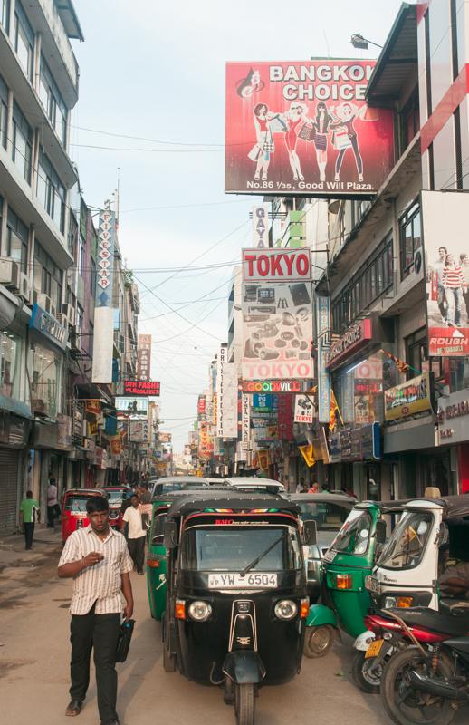 Quartier de Pettah, à Colombo