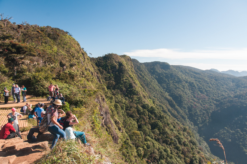 Le World's End, dans les Horton Plains