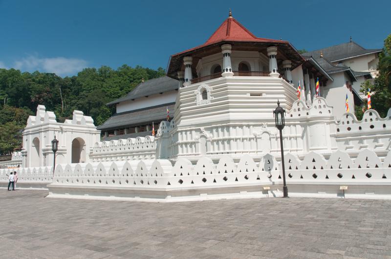 Temple de la Dent du Bouddha, à Kandy
