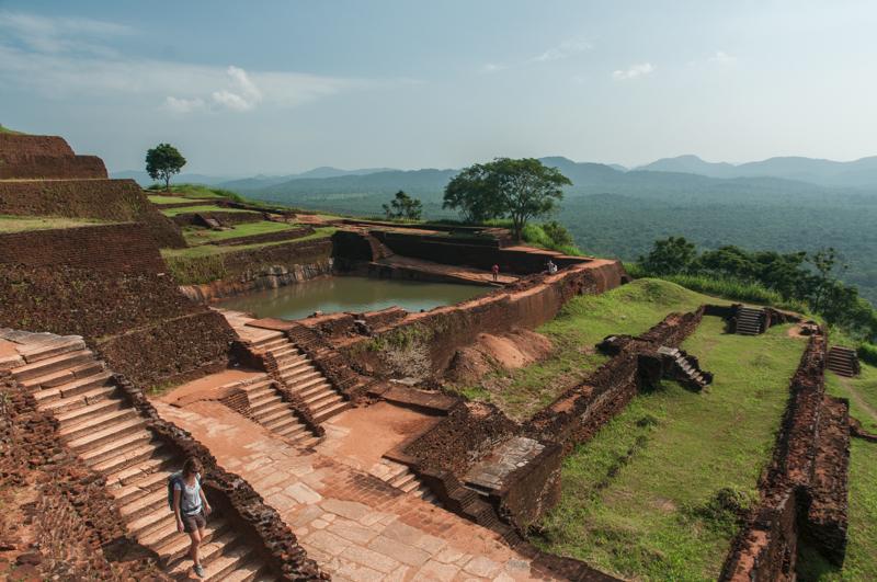 Rocher du Lion, Sigiriya